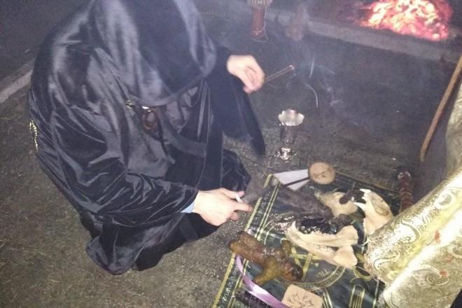 Приворотный ритуал Черное венчание